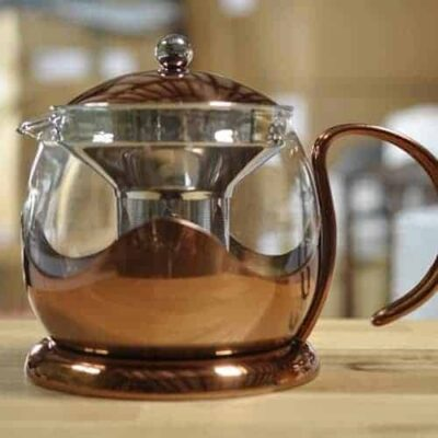 La Cafetiere glass teapot