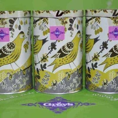 Loose leaf tea gift caddies