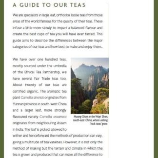 Guide to tea